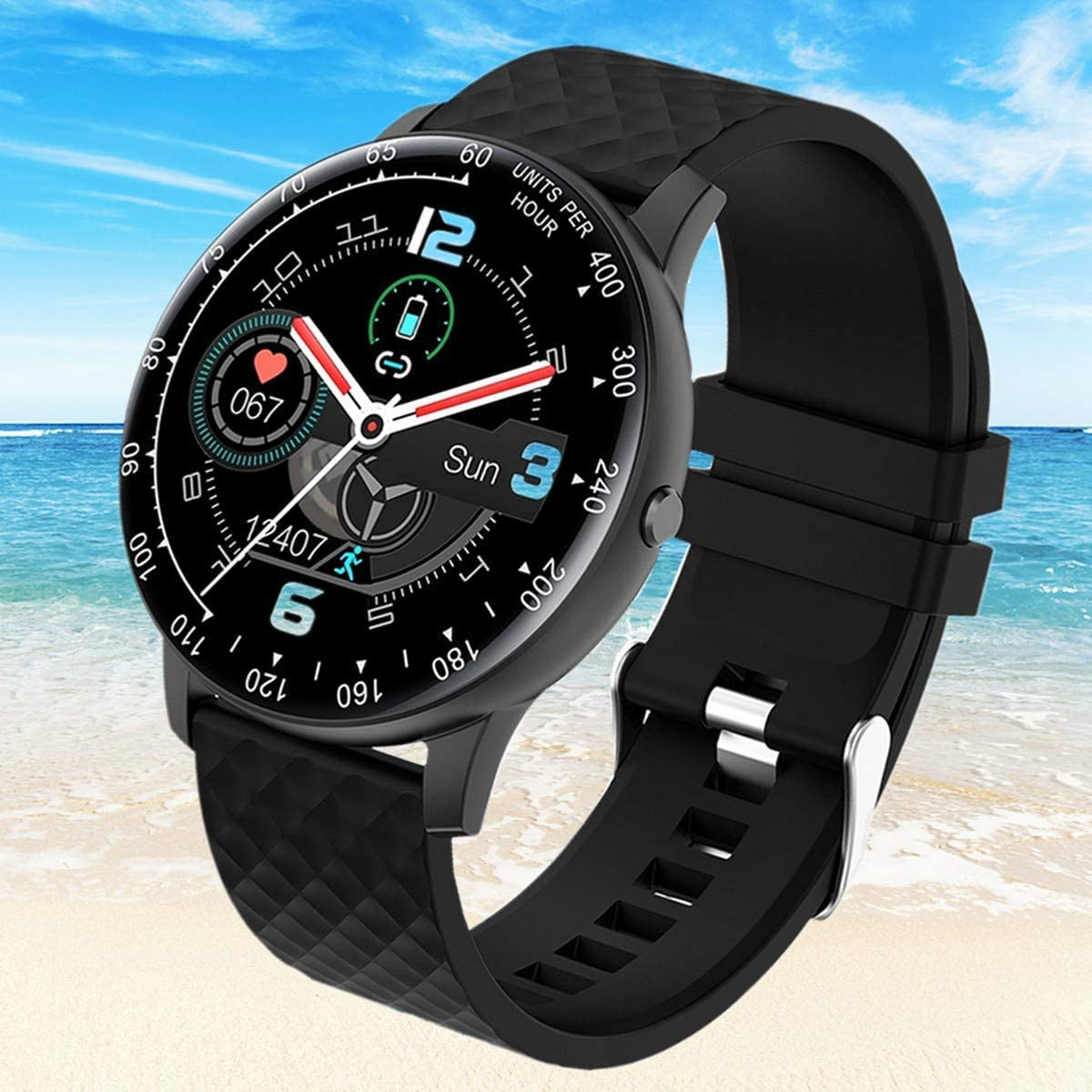 Super-cheap Smart Watch Fitness Tracker Branded goods with Heart Rate Pressure Blood