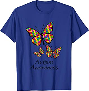 butterfly autism shirt