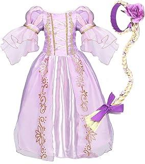 NNDOLL Halloween Carnaval Sofia Vestido niña Princesa Vestido 120 3-4 años
