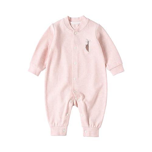 4bdcd9aa24cf pureborn Baby Coverall Infant Romper Pajamas Cartoon Animal Cotton Long  Sleeve Jumpsuits Sleepwear