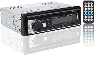 Autoradio Bluetooth, RIXOW Manos Libres Estéreo de Coche, Apoyo de Reproductor MP3, Llamadas Manos Libres, Función de Radio, y de Archivo.