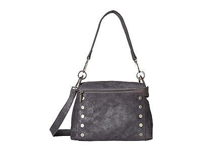 Hammitt Bryant Medium (Slate Tejus/Slate Buffed/Brushed Silver) Handbags
