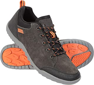 Mountain Warehouse Mens Shoes - Cow Suede Upper Hiking Footwear