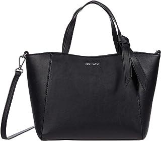 Nine West Lexie Women's Small Trap Tote Bag - Black