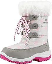 DREAM PAIRS Boys & Girls Nordic Knee High Winter Snow Boots