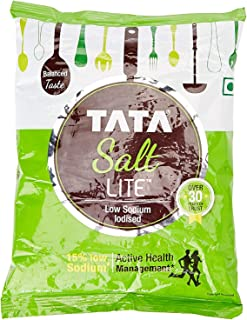 Tata Salt Lite, Low Sodium, 1kg best spice of India - By Ethnic choice