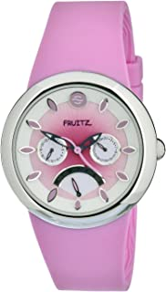 Women's F43S-SD-P Quartz Pink Dial Stainless Steel Watch