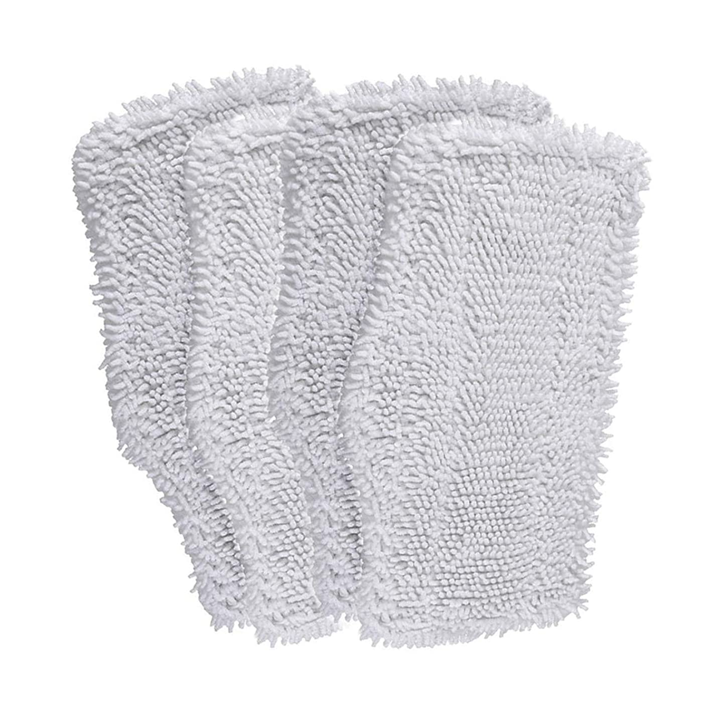 Ximoon 4 Pack Washable Cleaning Pads Replacements for Shark Steam & Spray Mop SK410, SK460, SK115, SK140, SK141, SK435CO, S3101, S3102, S3250, S3251