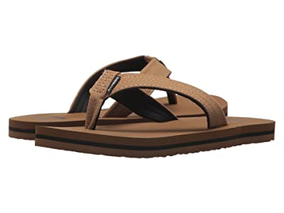 Billabong Stoked Sandal (Little Kid/Big Kid) (Camel) Men