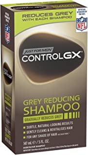 Just For Men Control Gx 5 Ounce Shampoo Grey Reducing Boxed (147ml) (6 Pack)