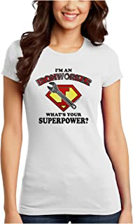TooLoud Ironworker - Superpower Juniors Petite T-Shirt