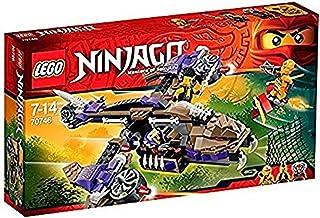 LEGO Ninjago - Helicóptero de Ataque Condrai, (70746)
