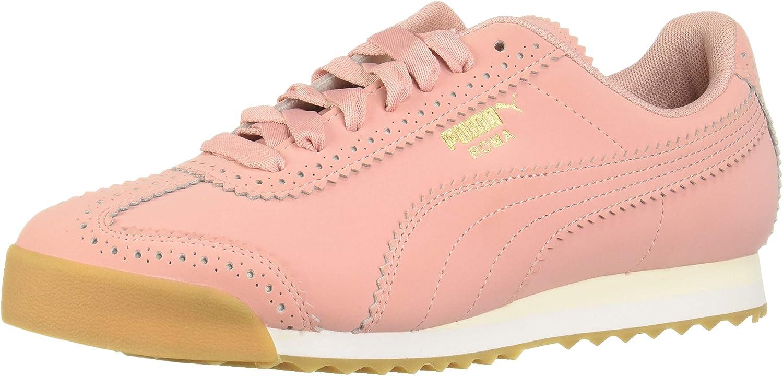 PUMA Womens Roma Brogue Casual Sneaker