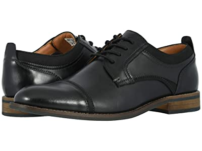 Dockers Bergen (Black Polished Synthetic) Men