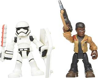 Playskool Heroes Galactic Heroes Star Wars Resistance Finn (Jakku) & First Order Stormtrooper (Renewed)