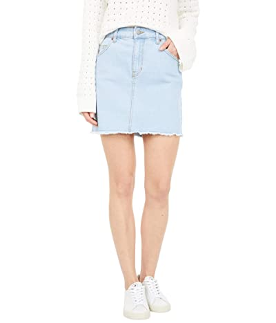 Roxy Show Us Love Skirt (Light Blue) Women
