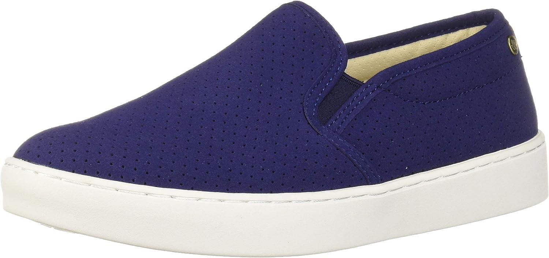 Spenco Women's Celine Slip On Sneaker, Patriot Blue, 8 Medium US