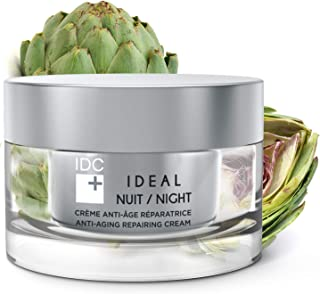 Anti-Aging Repairing Night Cream IDEAL Professional Skin Care for All Skin Types by IDC DERMO