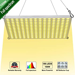 LED Grow Light for Indoor Plants,YGROW 100W Growing Lamp Light Bulbs with Exclusive Full Spectrum for Greenhouse Hydroponic Plants from Seeding to Harvest