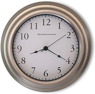 "Bjerg Instruments Small 8"" Wall Clock (Satin Nickel)"
