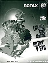 219100230 2006 Sea-Doo Rotax V-810 Engine Shop Manual