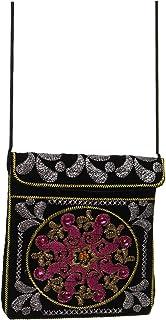 حقيبة كروس شرقية مزخرفة, متعددة الألوان