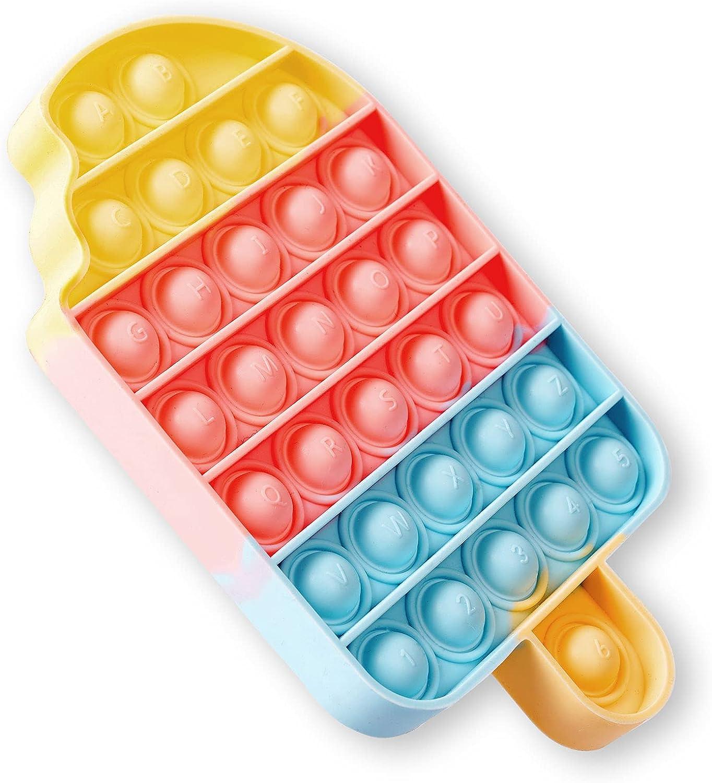 GOLDMOO Fidget Toys, Pops Bubble Fidget Sensory Toy, Silicone St