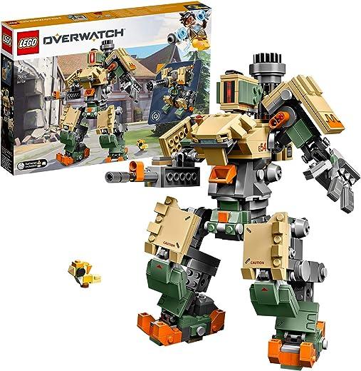 LEGO 75974 Overwatch Bastion Toy with Ganymede Figure