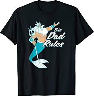 The Little Mermaid King Triton Dad Men's T-Shirt