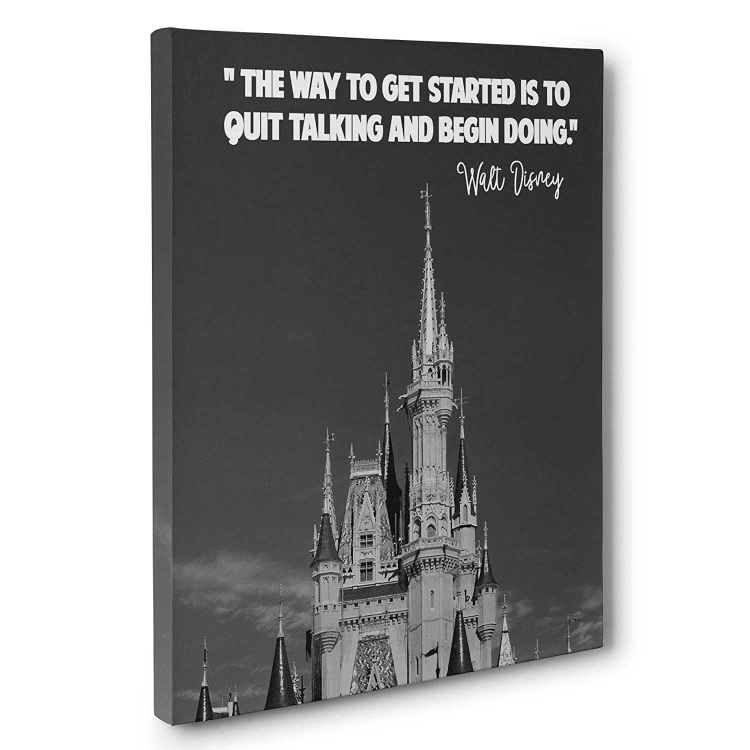 Walt Max 54% OFF Low price Disney Motivational Quote Art Wall Canvas