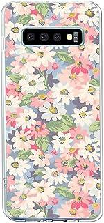 Suhctup Compatible con Samsung Galaxy Note 8 Funda Flor de TPU Transparente Diseño de Flores Patrón Cárcasa Ultra Fina Sua...