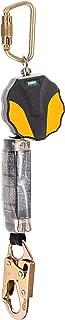 MSA 10157841 Workman Mini Single-Leg ANSI-Certified Personal Fall Limiter with 36C Snap Hook, 6-Feet
