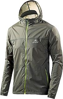 Men`s Cycling Jersey Bicycle Ultra Light Windbreaker Windproof Lightweight Jacket Hiking