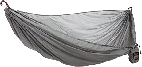 Grand Trunk Single Hammock: Nano 7 Premium Ultra Light made with Ripstop Nylon for Camping and Travel includes Carabiners