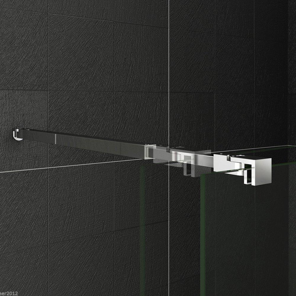 Barra de estabilización para pared de fijación, mampara de ducha ...