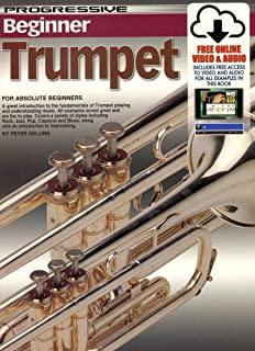 Progressive Beginner Trumpet Bk/OnlineVideo/Audio