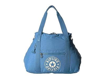 Kipling Art M Tote (Dynamic Blue) Tote Handbags