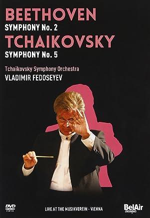 ベートーヴェン:交響曲第2番 ニ長調 Op.36/チャイコフスキー:交響曲第5番 ホ短調 Op.64 他 [DVD]