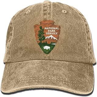 National Park Services Denim Cap Trucker Cap Black