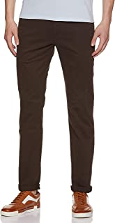 Levi's Men's 511 Slim fit Chinos denim jeans in Brown, Size: 34Wx32L