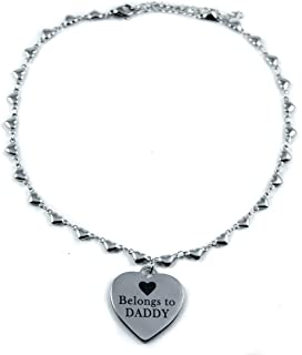 Baby Kayxx Belongs to Daddy DDLG Dom Day Collar Heart Choker