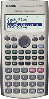Calculadora Financeira FC-100V Branca Casio