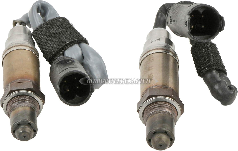 For BMW 545i 745i Bosch Oxygen Kit O2 48-8 Sensor - BuyAutoParts Max 84% unisex OFF