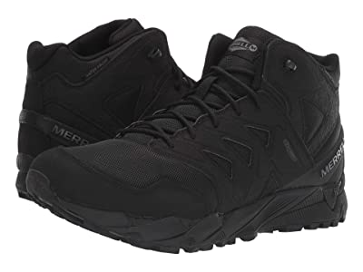 Merrell Work Agility Peak Mid Tactical Waterproof (Black) Men