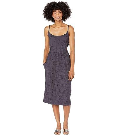 RVCA Lidia Cutout Midi Dress (Ink) Women