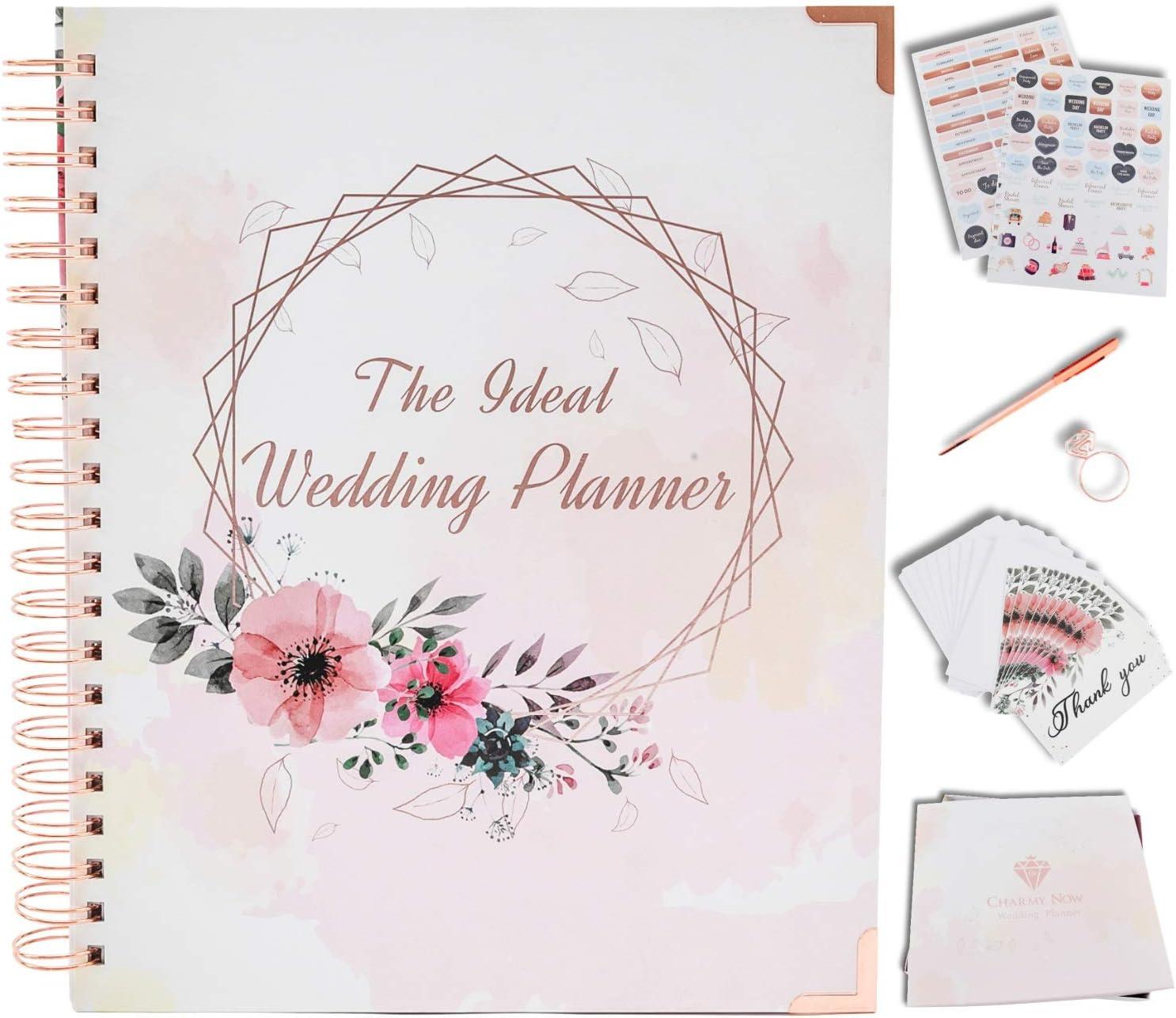 Wedding Guest Book Wedding Book Bride to be Gift Custom Wedding Planner Wedding Planner Wedding Planner Organizer