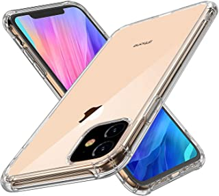 Tuffinno Case for Apple iPhone 11 Case 2019 Shockproof Absorption Bumper HD Clear Case with Soft TPU Transparent Protectiv...