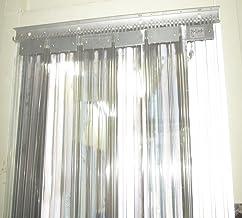 プレハブ冷凍庫 フック式スリットカーテン (900W×1900H)