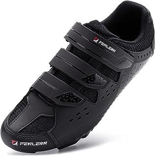 URDAR Zapatillas de Ciclismo Hombre Calzado Deportivo de MTB Montaña Antideslizante Transpirable Calzado Ciclismo