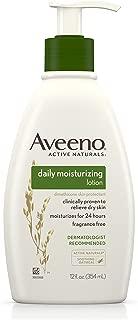Aveeno Daily Moisturizing Lotion 12 Ounce Pump (354ml) (3 Pack)